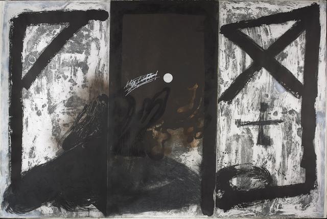 Antoni Tàpies, 'Triptych', 1989, Vallarino Fine Art
