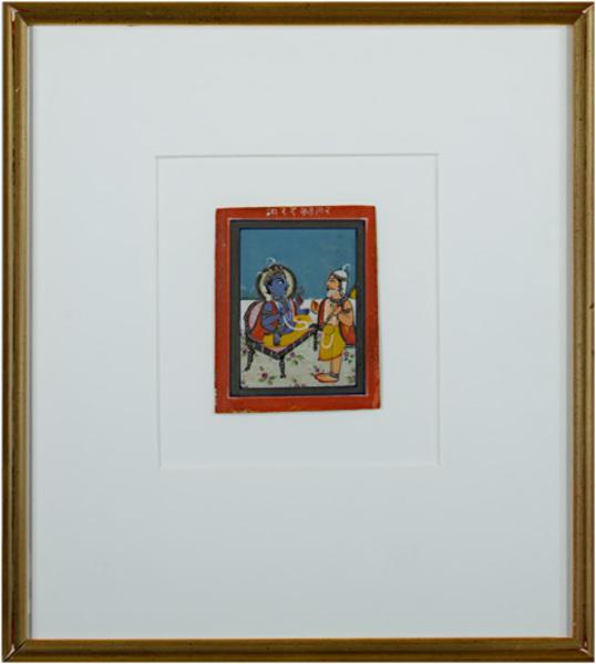 Unknown Artist, 'from the late 19th Century, Jaipur School Miniature', ca. 1890, David Barnett Gallery