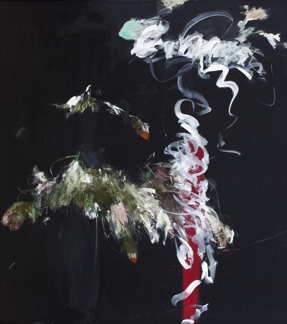 , 'Foliage in Darkness Series (red vase),' 2007, Edward Tyler Nahem Fine Art LLC