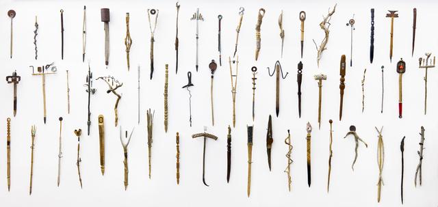 , 'Sunrise Sticks (detail),' 2002-2016, Lisa Sette Gallery