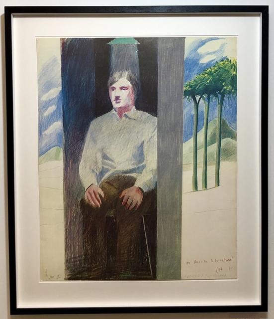 David Hockney, 'The Prisoner, for Amnesty International 1/10', 1977, Mr & Mrs Clark's