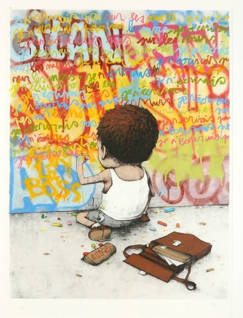 dran, 'I Have Chalks', 2010, Stowe Gallery