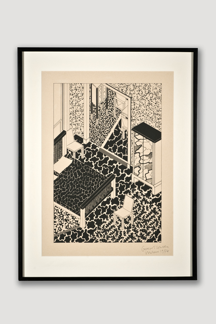 , 'Interior 2 (Limited Edition Silkscreen),' 1984, The Modern Archive