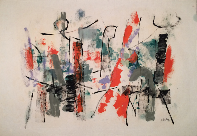 , 'Harbor Abstraction,' 1956, Caldwell Gallery Hudson