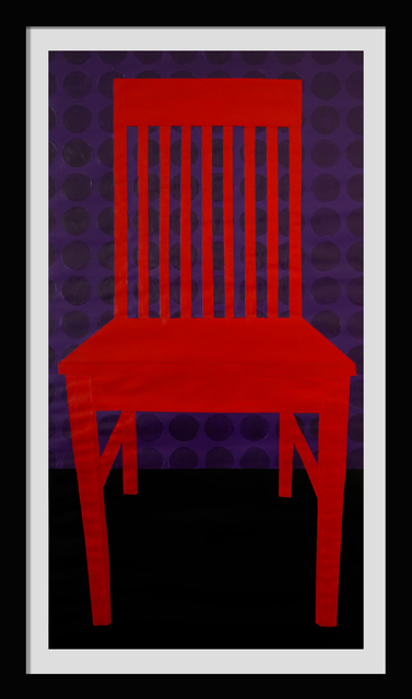 Jon Key, 'The Red Chair No. 1', 2019, Ross+Kramer Gallery