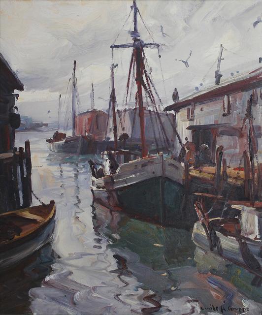 Emil Gruppe, 'Gloucester Harbor ', N/A, Elizabeth Clement Fine Art
