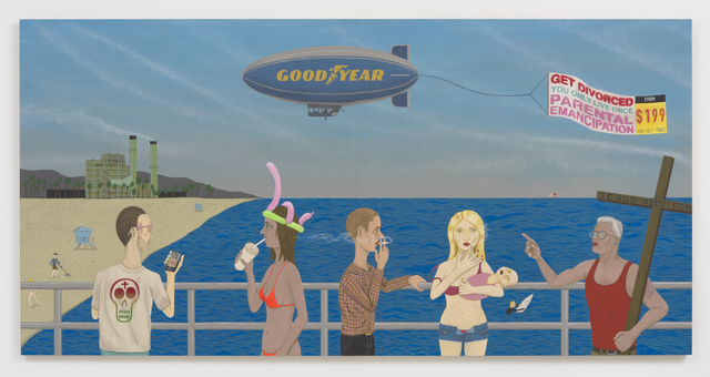 , 'Huntington Beach Pier #2 (Get Divorced),' 2015, Roberts & Tilton
