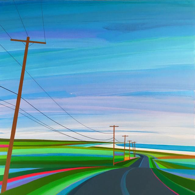 Grant Haffner, 'Sunrise on Old Montauk Highway', 2018, Roman Fine Art