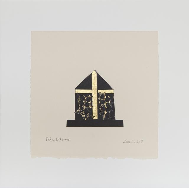 , 'Folded House,' 2016, Jeanne Bucher Jaeger