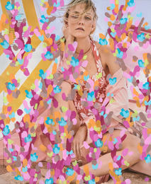 Untitled (Caroline Trentini by Mario Testino for Vogue Magazine, March, 2017)