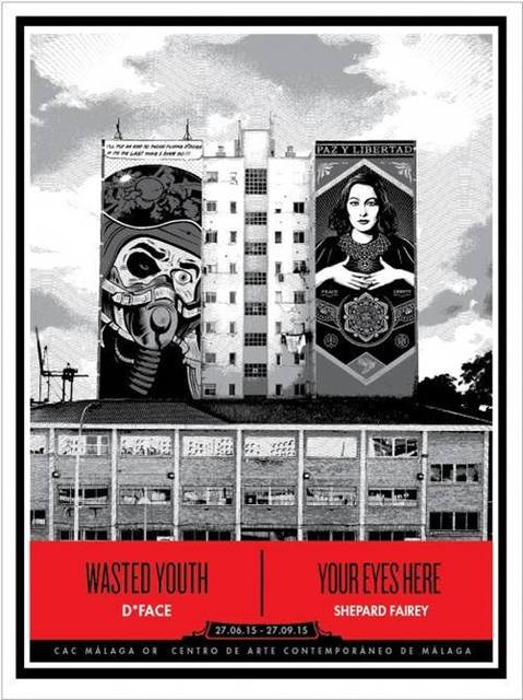 Shepard Fairey, 'Wasted Youth Your Eyes Here by D*Face & Shepard Fairey', 2015, Art276