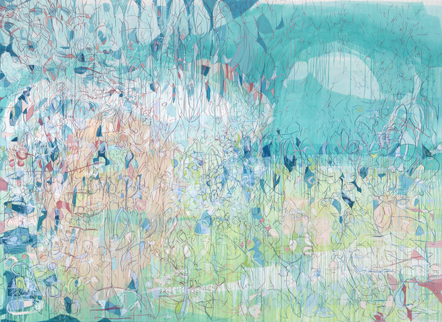 , 'Girl Watching a Bird in the Horizon,' 2015, carlier | gebauer