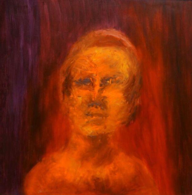 Sidney Nolan, 'Orange Head', 1964, Angela Tandori Fine Art