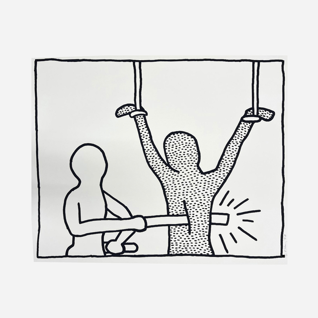 Keith Haring, 'Untitled (from the Blueprint Drawings)', 1990, Artsy x Wright