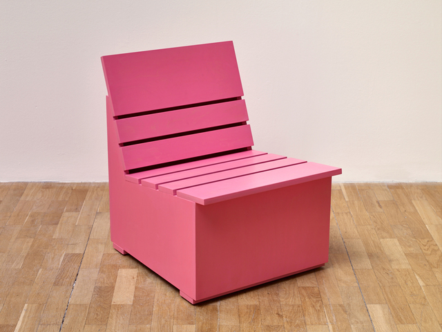 , 'Sunny Chair for Whitechapel (2016) (Pink),' 2016, Whitechapel Gallery