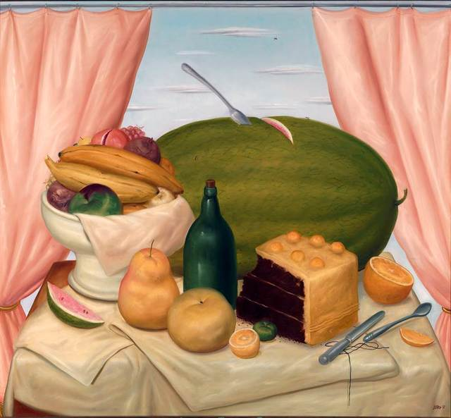 , 'Still-life with Watermelon ,' 1973, Gary Nader