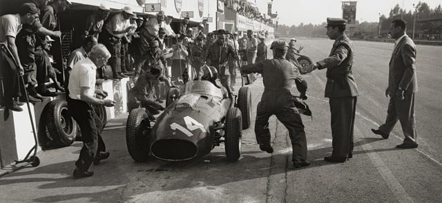 , 'Ferrari Pit Stop, Monza, Italy,' 1958, Robert Klein Gallery