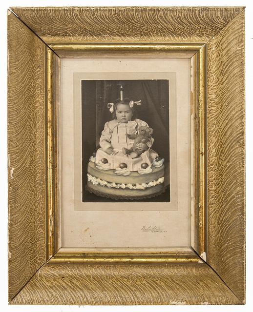 Jana Paleckova, 'Untitled (Girl in a cake)', 2017, FRED.GIAMPIETRO Gallery