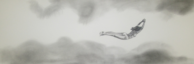 , 'Supergirl Flying Naked,' 2017, Alida Anderson Art Projects