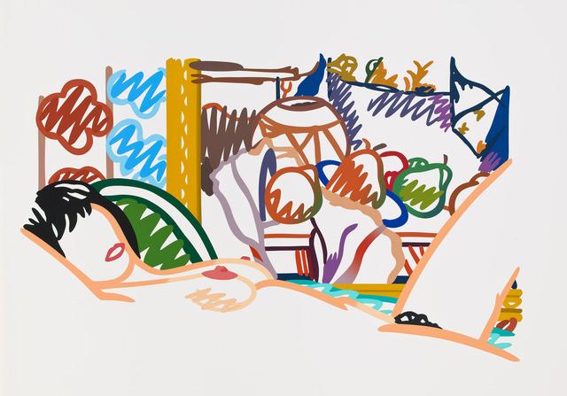 , 'Monica Nude with Cezanne,' 1994, Alan Cristea Gallery