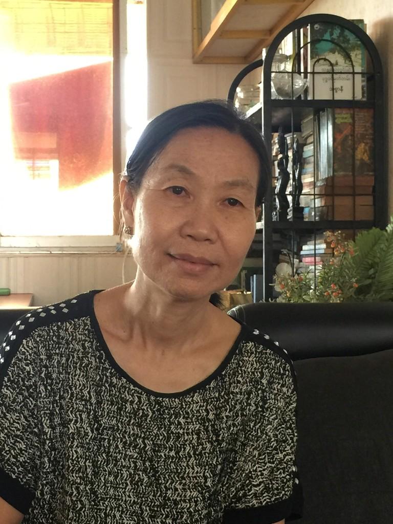 Portrait of Phyu Mon