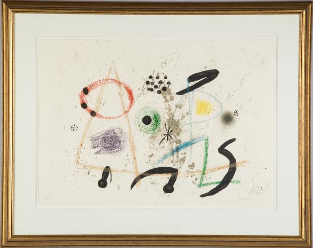Joan Miró, 'Maravillas con Variaciones Acrosticas en el Jardin de Miro (M. 1055)', 1975, RoGallery