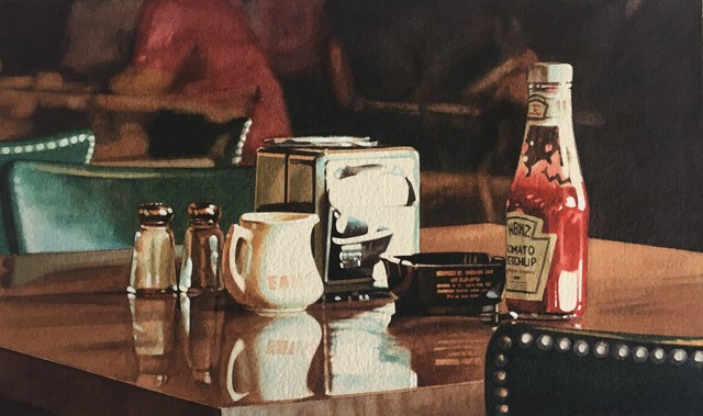 Ralph Goings, 'Still Life with Pitcher', 1976, Painting, Watercolour, Plus One Gallery