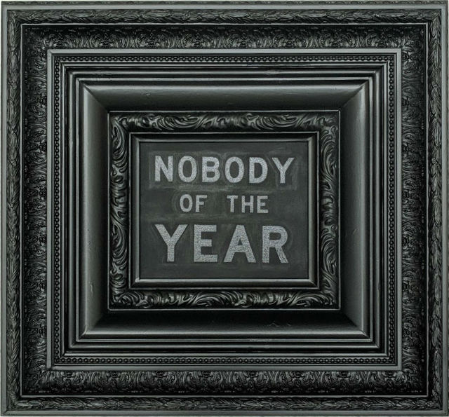 , 'Nobody of the Year,' 2018, Haw Contemporary