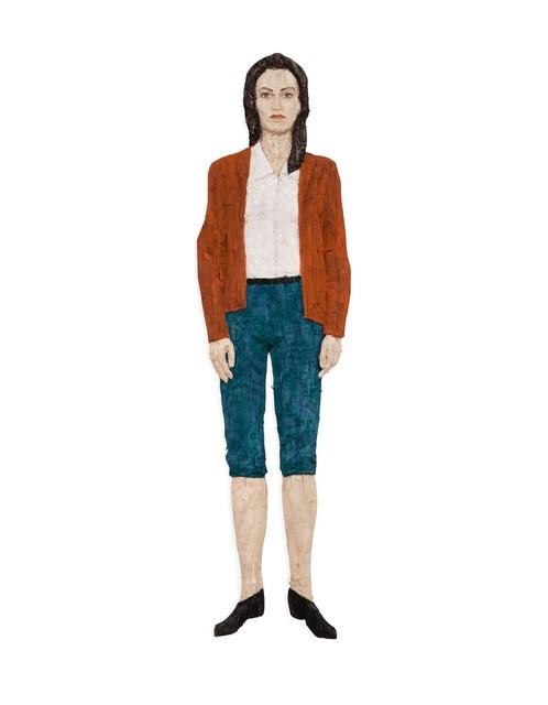 , 'Frau mit roter Jacke,' 2011, Deweer Gallery