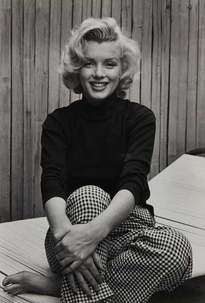 , 'Marilyn Monroe (Wearing Checkered Pants),' 1953, Robert Mann Gallery