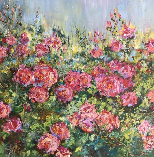 Diana Malivani, 'Garden Roses ', 2019, Eclectic Gallery