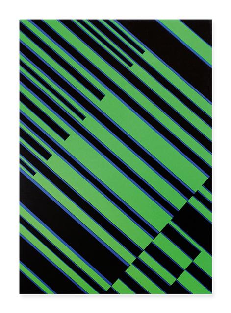 , 'Blaue Interferenzen im Grün,' 1967, Walter Storms Galerie