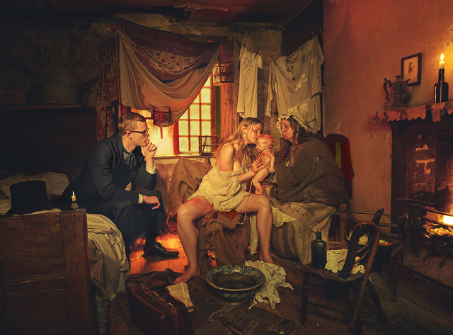"""Natalie Lennard, 'The Whitechapel Woman - Staged Photograph of Grantly Dick-Read's Cinematic Description in """"Childbirth Without Fear""""', 2017, Photography, Digital Print on Hahnemuhle Pearl Paper, Gallery 1202"""
