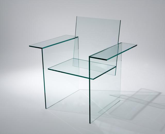 , 'Glass Chair,' 1976, Friedman Benda