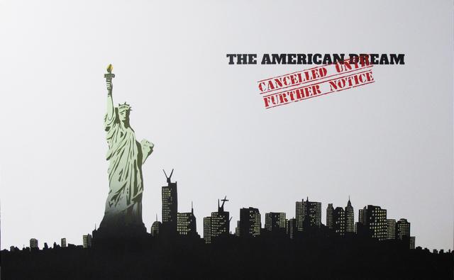 Plastic Jesus, 'The American Dream Cancelled', 2019, Wallspace