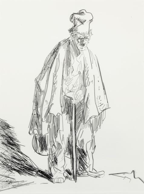 Vik Muniz, 'Beggars #1 (from Beggars after Rembrandt)', 2001, Sotheby's