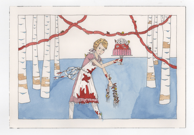 , 'The Snail Maiden,' 2016, Denny Gallery