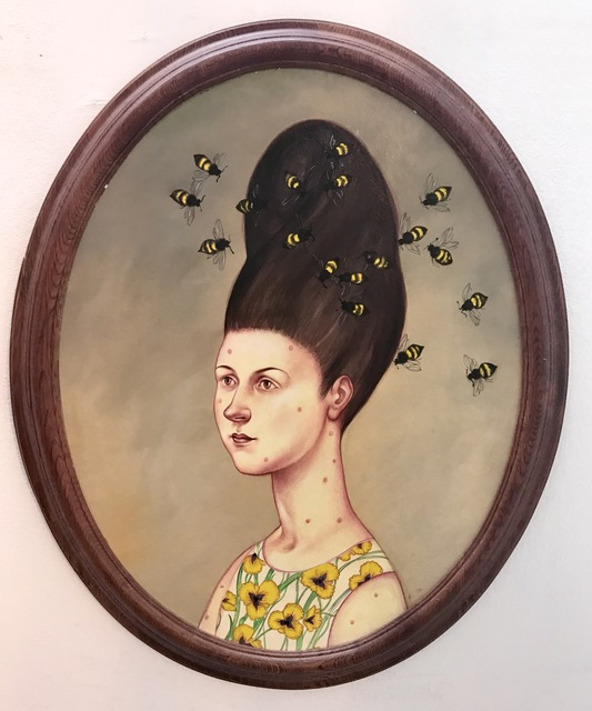 , 'Bad Hair Days, BEEHIVE,' 2017, Ro2 Art
