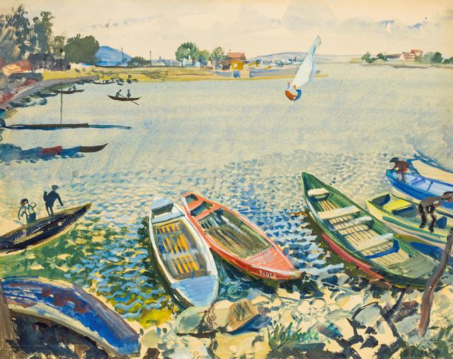 , 'Old Danube,' ca. 1930, Galerie Kovacek & Zetter