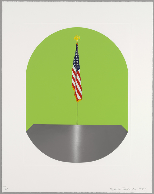 Dexter Dalwood, 'The thought of what America would be like   If the classics had a wide circulation', 2009, Cristea Roberts Gallery