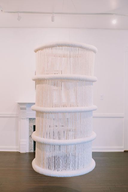 , 'Rooftop Tower,' 2018, Porch Gallery