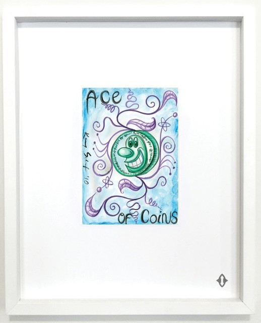 """, 'ACE OF COINS, From the series """"Contemporary Magic: A Tarot Deck Art Project"""" Limited Edition 5th Anniversary Print Collection,' 2015, ART CAPSUL"""