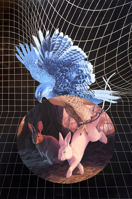 , 'FROM ABOVE,' 2015, Deep Space Gallery