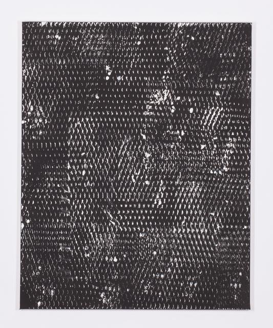 , 'Expanded Metal Painting 13,' 2017, Galerie Nikolaus Ruzicska