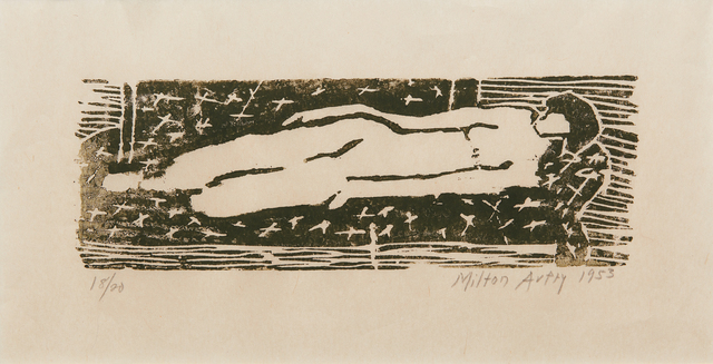 Milton Avery, 'Nude', 1953, Phillips