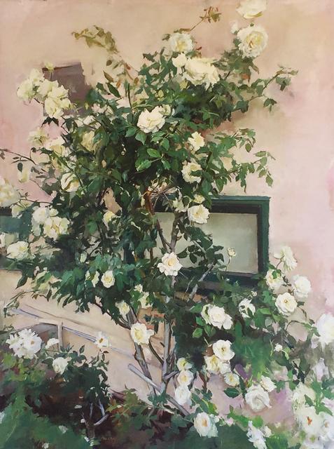 , 'ROSE TREE,' , saltfineart