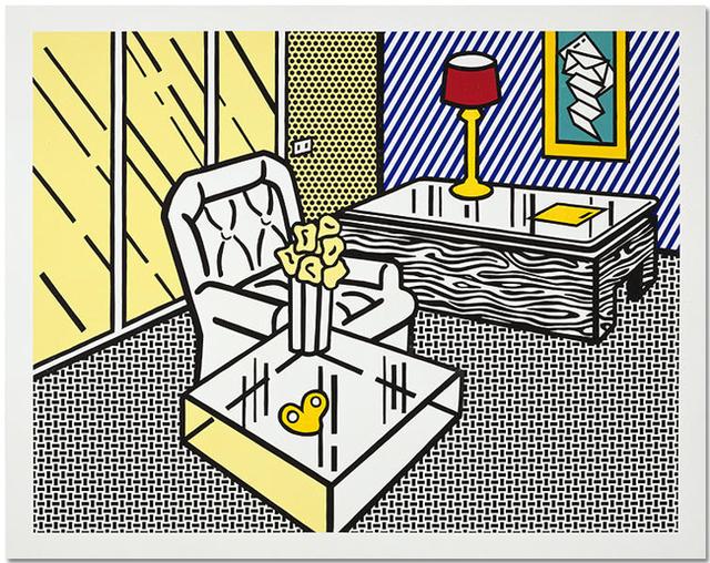 Roy Lichtenstein, 'The Den', 1991, Upsilon Gallery
