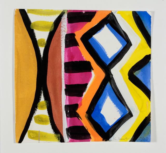 , 'Woman with Mirror. (Canvas #02),' 2007, Rosamund Felsen Gallery