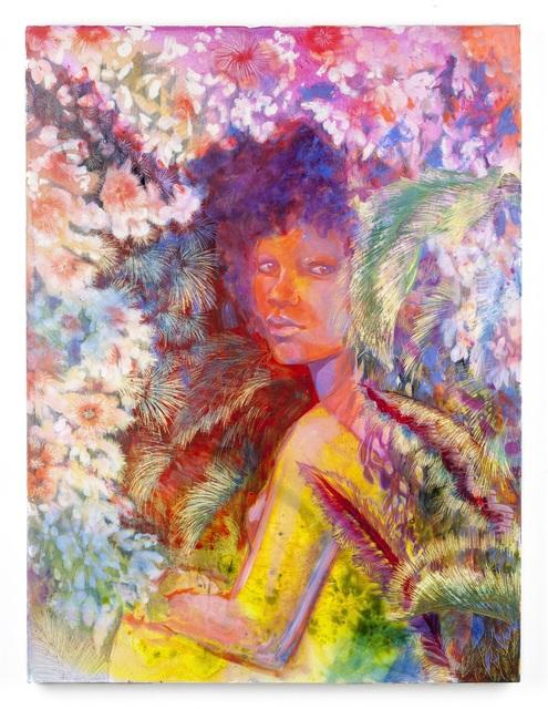 Firelei Báez, 'Untitled', 2019, Painting, Acrylic on canvas, MCA Chicago Benefit Auction
