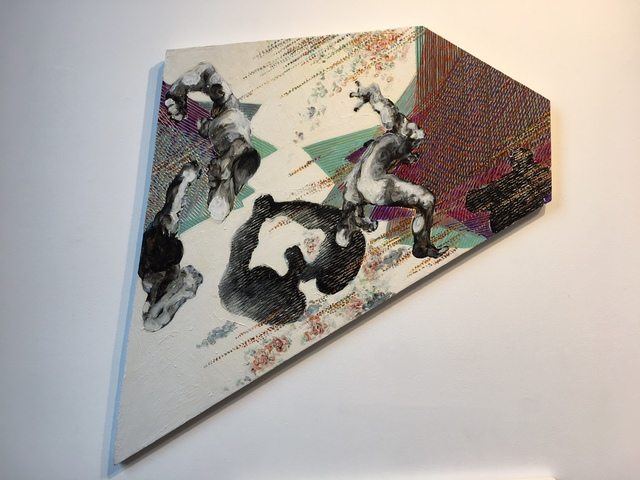 , 'Untitled painting from High-point Contact B1,' 1991, Linda Warren Projects